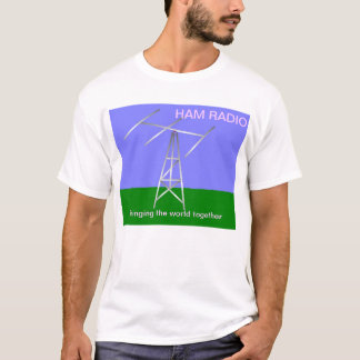 Ham radio bring the world together t-shirt
