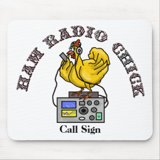 Ham Radio Chick Mouse Pad