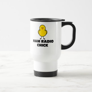 Ham Radio Chick Travel Mug