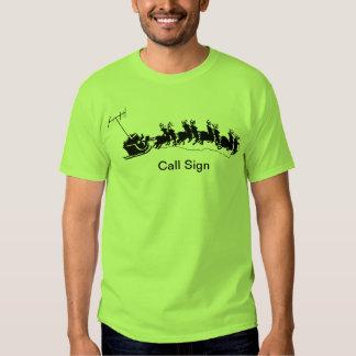 Ham Radio Christmas Tshirt - Santa's Mobile Rig
