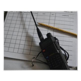Ham Radio Gear Photo Print