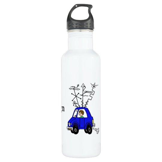 Ham Radio Mobile Rig  24 oz 710 Ml Water Bottle