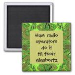 Ham radio operators do it humour