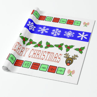 Ham Radio or Electrical Engineering Xmas Gift Wrap