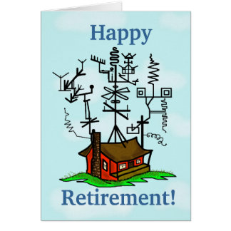 Ham Radio Retirement Greeting Card  Customize It!