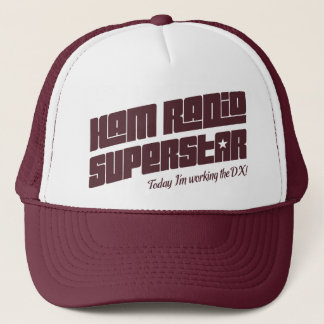 Ham Radio Superstar Trucker Hat