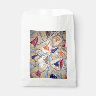 Hamantaschen art gift bags