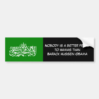 hamasliberationflag, Nobody is a better friendt... Bumper Sticker