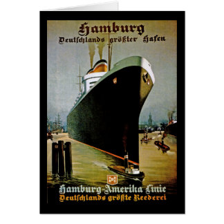 Hamburg-Amerika Line Card