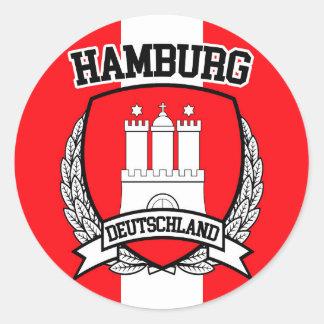 Hamburg Classic Round Sticker