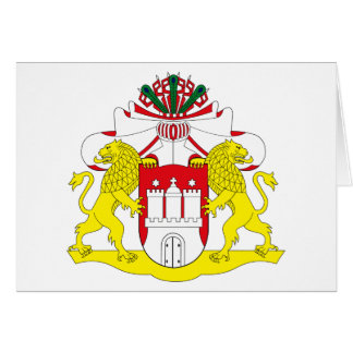 Hamburg Coat of Arms Greeting Card