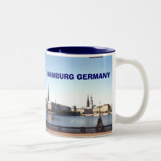 hamburg germany, hamburg germany, HAMBURG GERMA... Two-Tone Coffee Mug
