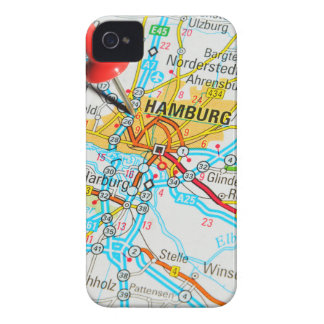 Hamburg, Germany iPhone 4 Case-Mate Cases
