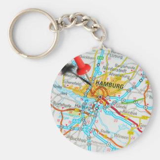 Hamburg, Germany Keychain