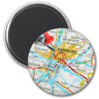 Hamburg, Germany Magnet