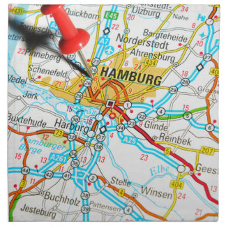 Hamburg, Germany Napkin