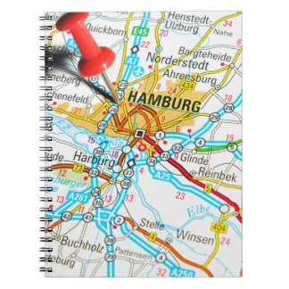 Hamburg, Germany Notebook