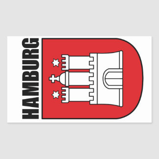 Hamburg (Hansestadt) Sticker