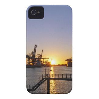 hamburg harbor Case-Mate iPhone 4 cases