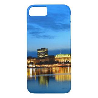 Hamburg Harbor Hafen Deutschland Alster Night iPhone 7 Case