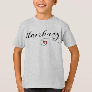 Hamburg Heart Tee Shirt, Germany