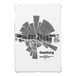 Hamburg Map iPad Mini Case