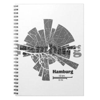 Hamburg Map Notebooks