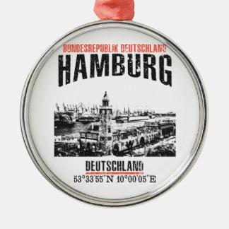 Hamburg Metal Ornament