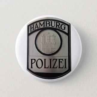 Hamburg Polizei 2 Inch Round Button