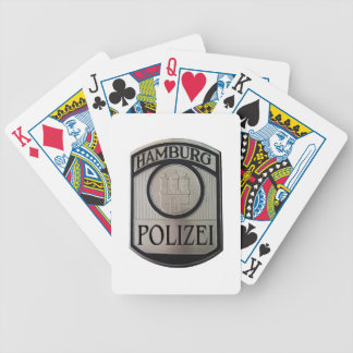 Hamburg Polizei Bicycle Playing Cards