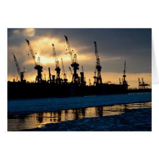 Hamburg port sunset - Hamburg Card