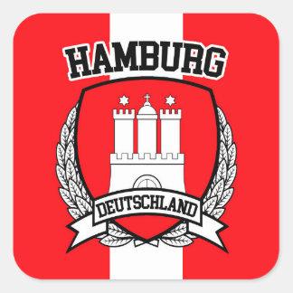 Hamburg Square Sticker