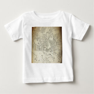 Hamburg Streets and Buildings Map Antic Vintage Baby T-Shirt