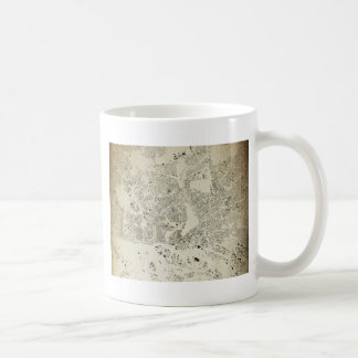Hamburg Streets and Buildings Map Antic Vintage Coffee Mug