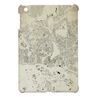 Hamburg Streets and Buildings Map Antic Vintage iPad Mini Case