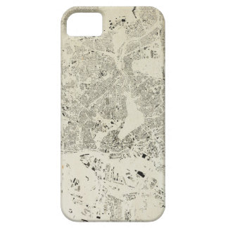 Hamburg Streets and Buildings Map Antic Vintage iPhone 5 Case