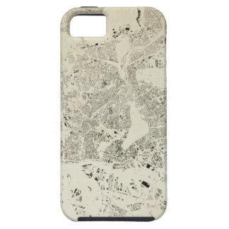 Hamburg Streets and Buildings Map Antic Vintage iPhone 5 Cover