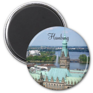 Hamburg Town Hall Magnet