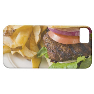 Hamburger and French Fries iPhone 5 Cover