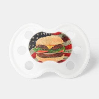 Hamburger Baby Pacifier