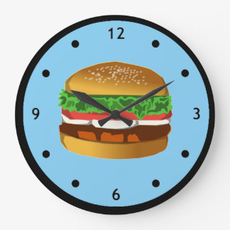 Hamburger Clock