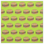 hamburger design fabric