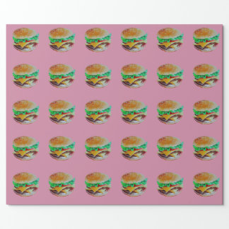 hamburger design, original painting