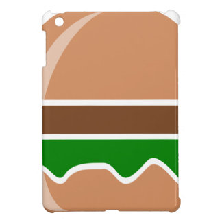 hamburger fast food a sandwich iPad mini case