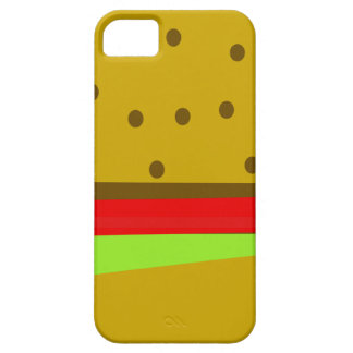 Hamburger food fast food burger case for the iPhone 5