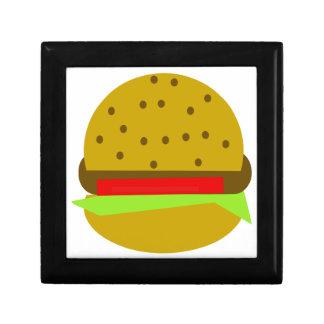 Hamburger food fast food burger gift box