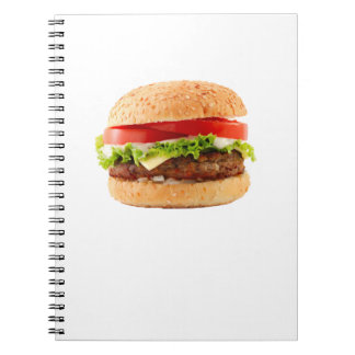 Hamburger Funny Halloween costume matching couples Notebook