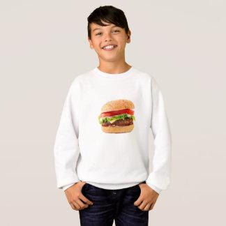 Hamburger Funny Halloween costume matching couples Sweatshirt