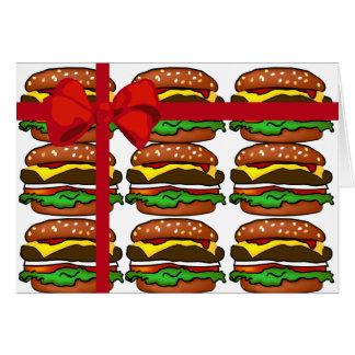 Hamburger Gift Greeting Card