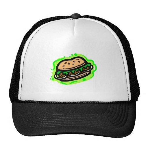 Hamburger Mesh Hats